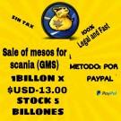 $ Scania Mesos $