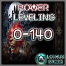 ⭐️Power Level 0-140⭐️